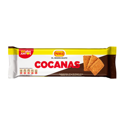 Cocanas Galletas Bolsa 4.82 oz - 12 ct