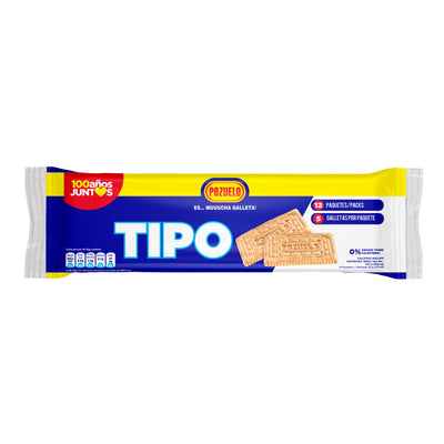 Tipo Galletas  Bolsa 9.65Oz - 12 ct