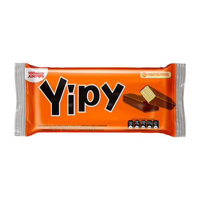 Yipy Wafers Bag 10.6 Oz - 12 ct