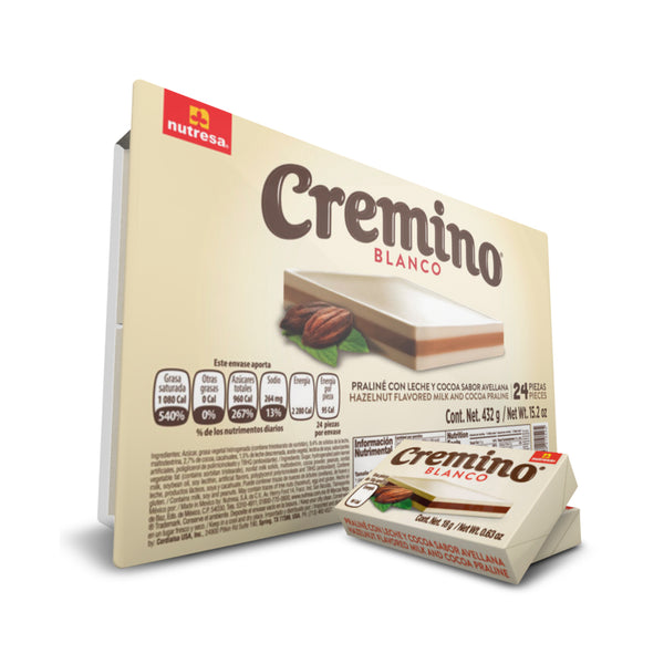 Cremino Blanco Tray 15.2 Oz - 24 ct