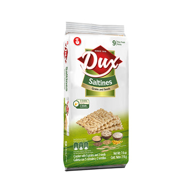 Dux Galletas De Granos & Semillas Bolsa 8.8 oz - 9 ct
