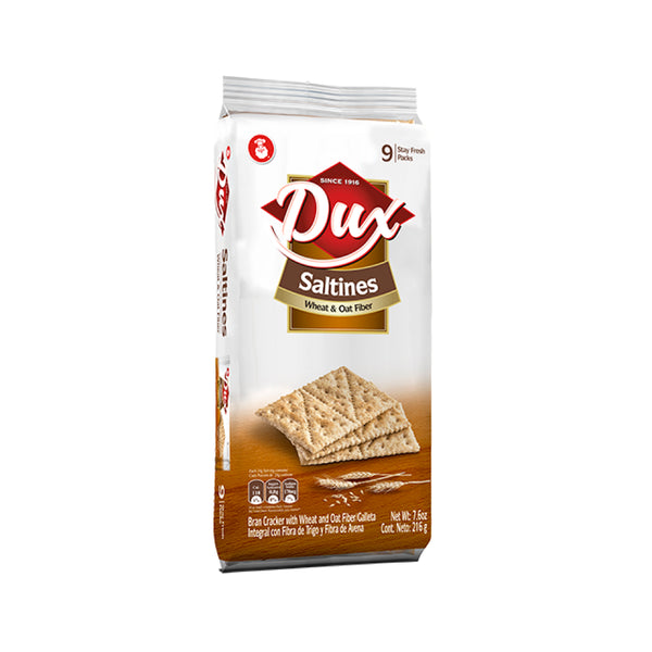 Dux Saltines Crackers Bag 8.8 Oz - 9 ct