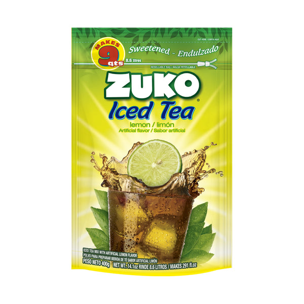 Zuko Lemon Tea 14.1 Oz