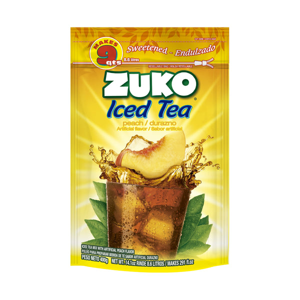 Zuko Peach Tea 14.1 Oz