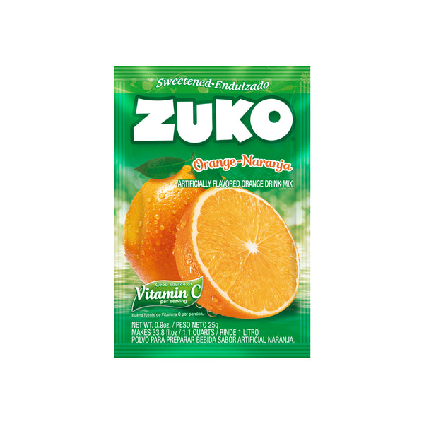 Zuko Orange 0.9 Oz - 24 ct