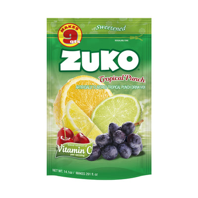 Zuko Tropical Punch 14.1 Oz