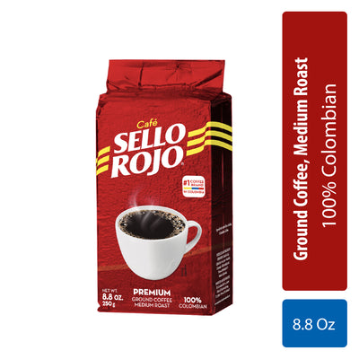 Sello Rojo Café Molido Bloque 8.8 Oz