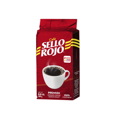 Sello Rojo Ground Coffee Brick 8.8 Oz
