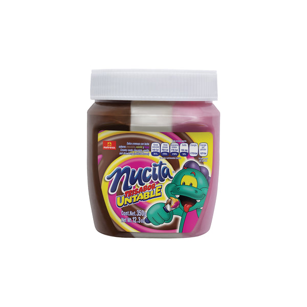 Nucita Tri-Sabor Spreadable Jar 12.35 Oz