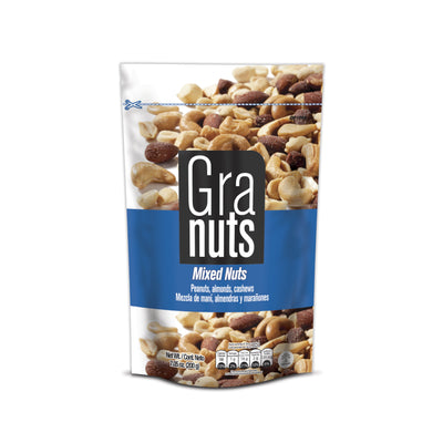Granuts Mixed Nuts Doypack 7.05 oz