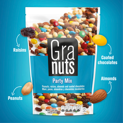 Granuts Party Mix Doypack 7.05 Oz