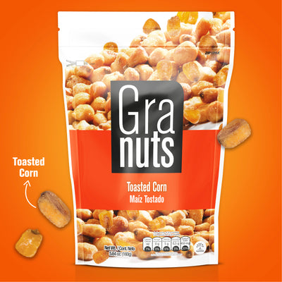Granuts Maíz Tostado Display 1.41 oz - 12 ct