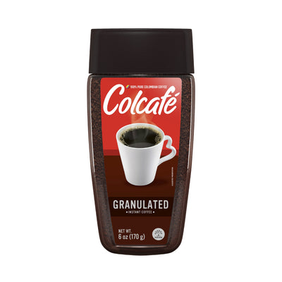Colcafe Instant Coffee Granulated Jar 6 Oz