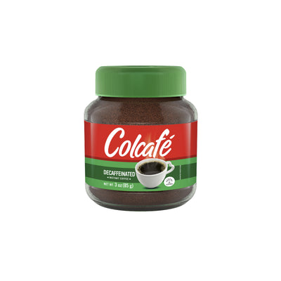 Colcafe Decaf Coffee Granulated Jar 3 Oz