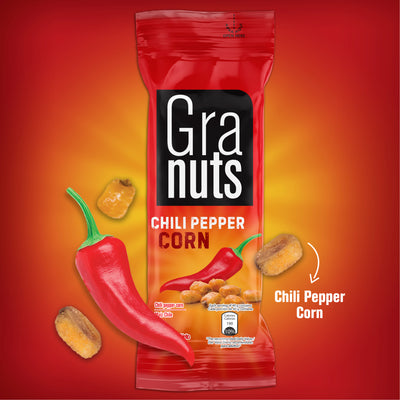 Granuts Chile Corn Display 1.41 Oz - 12 ct