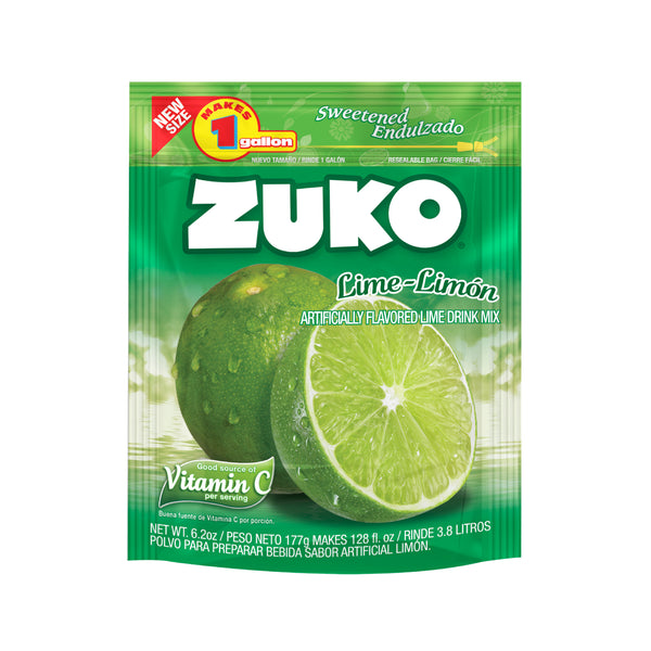 BOGO Zuko Lime 6.2 Oz