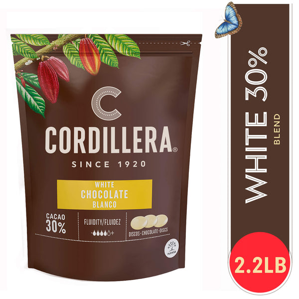 Cordillera 30% White Chocolate  Latin America - 2.2 Lb