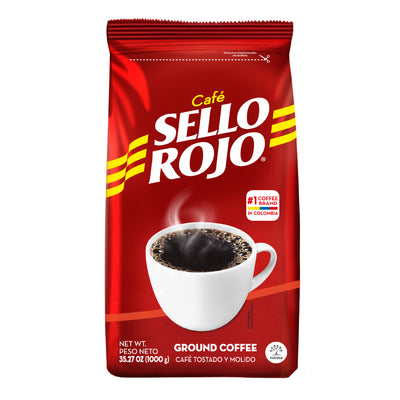 Sello Rojo Ground Coffee Bag 35.27 Oz