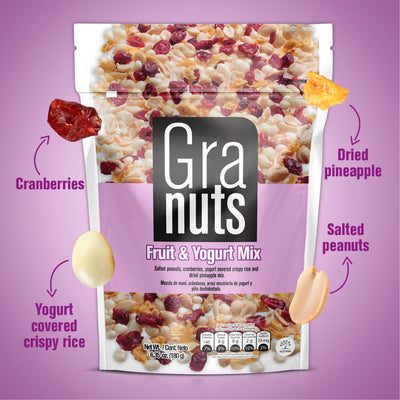 Granuts Yogurt Mix Doypack 7.05 Oz