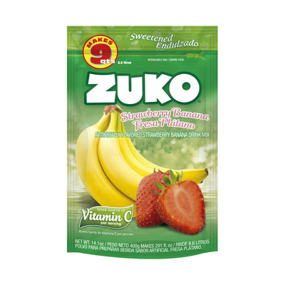 Zuko Strawberry Banana 14.1 Oz