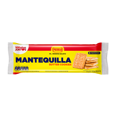 Pozuelo Galletas de Mantequilla 11 oz - 12 ct