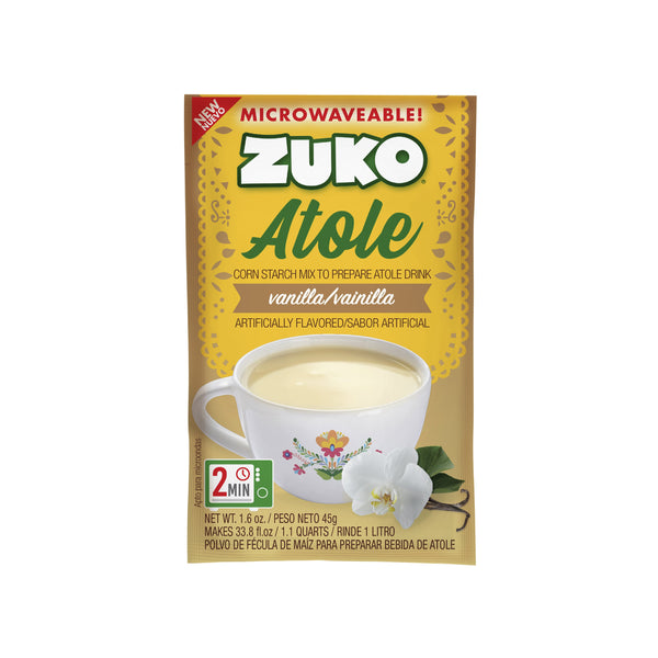 Zuko Atole Vainilla Display 24 ct x 1.6 oz