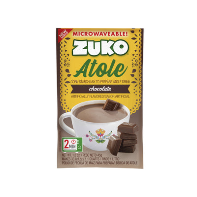 Zuko Atole Chocolate Display 24 ct x 1.6 Oz