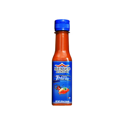 Mexico Lindo 7 Mares Hot Sauce 5 Oz