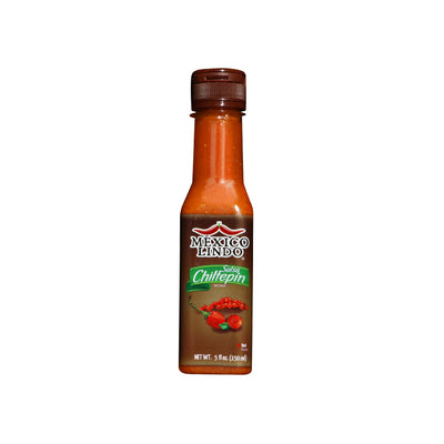 Mexico Lindo Chiltepin Hot Sauce 5 Oz