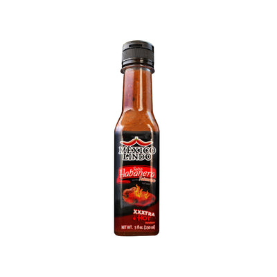 Mexico Lindo Xxxtra Hot Sauce 5 Oz