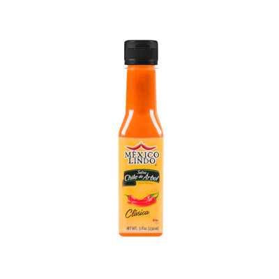 Mexico Lindo Chile De Arbol Hot Sauce 5 Oz