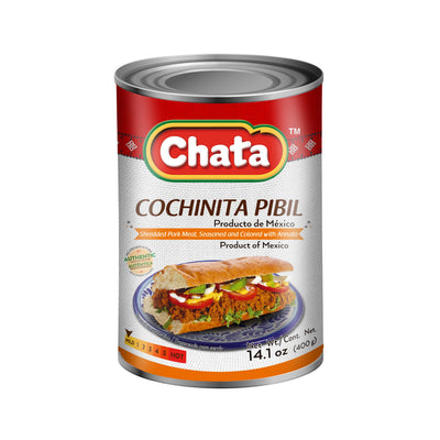 Chata Cochinita Pibil Lata 14.1 Oz