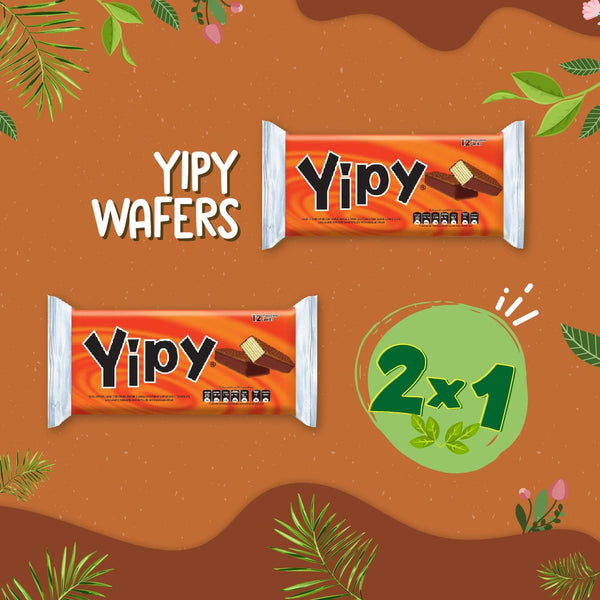 Yipy Wafers Pozuelo Bolsa 10.6 oz - 12 ct