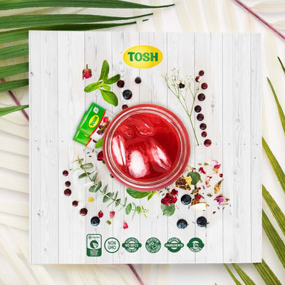 Tosh Infusion Red Berries 0.84 Oz - 20 ct