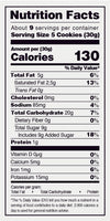 TRU BLU Ginger Snap Bag Cookie 10 Oz - 12 Ct