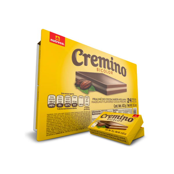 BOGO Cremino Bicolor Tray 15.2 Oz - 24 ct