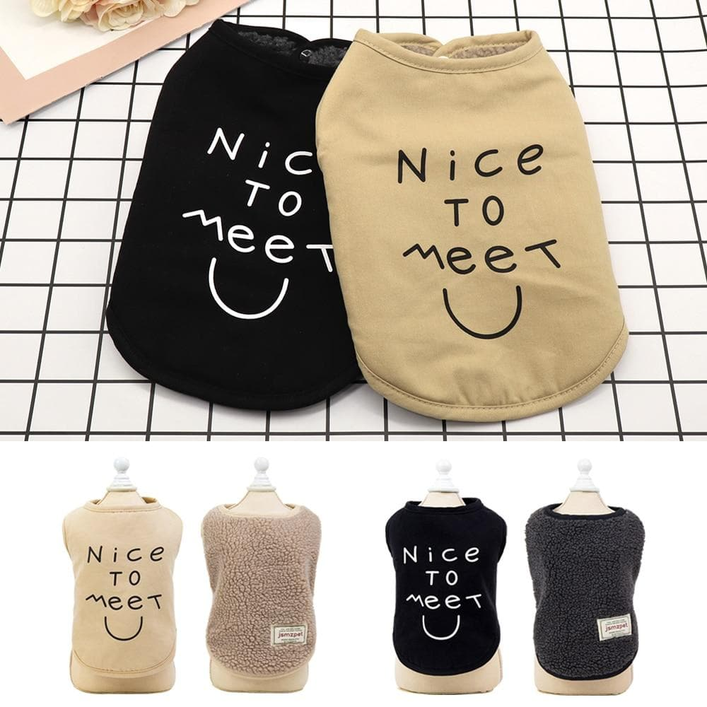 """NICE TO MEET YOU"" Chihuahua Vest - Chihuahua We Love"