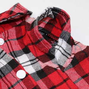 Plaid Flannel Shirt - Chihuahua We Love