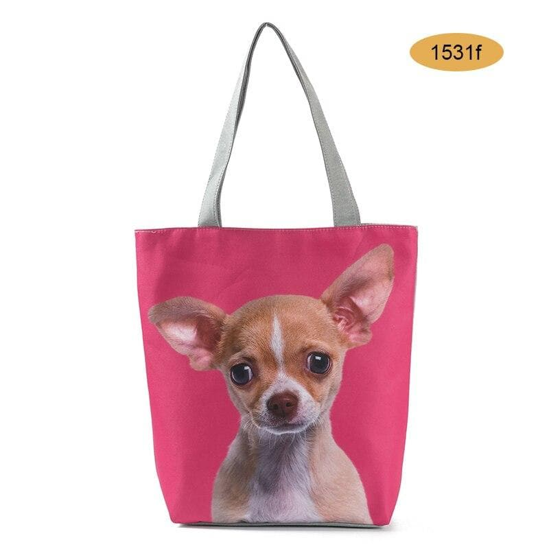 Chihuahua Shopping Bag - Chihuahua We Love
