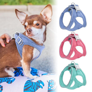 Reflective Soft & Breathable Summer Harness - Chihuahua We Love