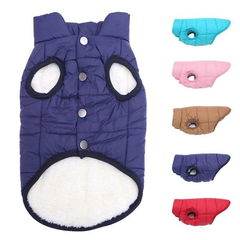 Warm Fleece Vest - Chihuahua We Love