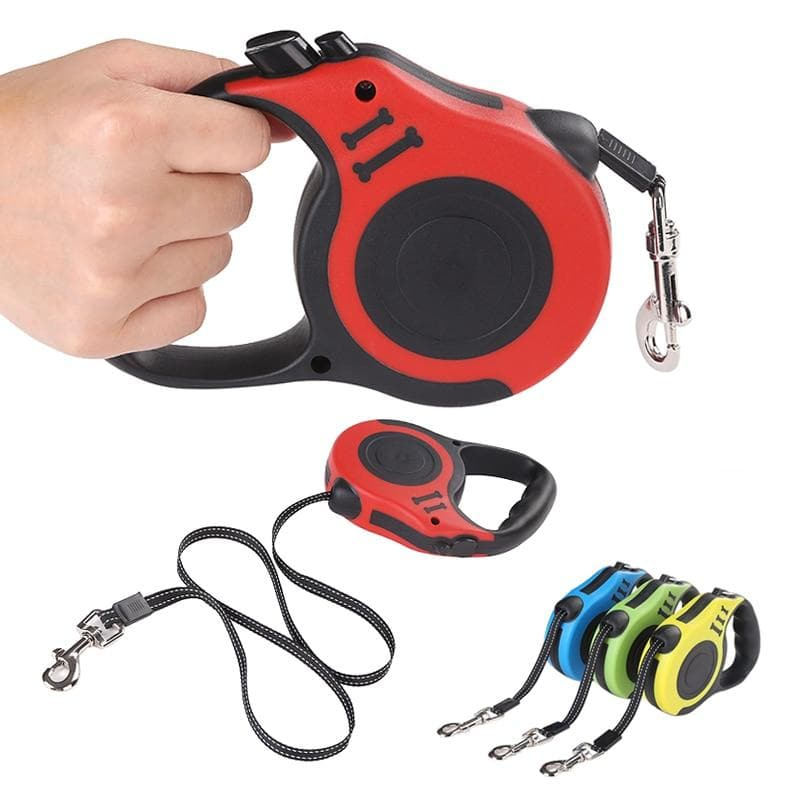 Automatic Retractable Leash - Chihuahua We Love