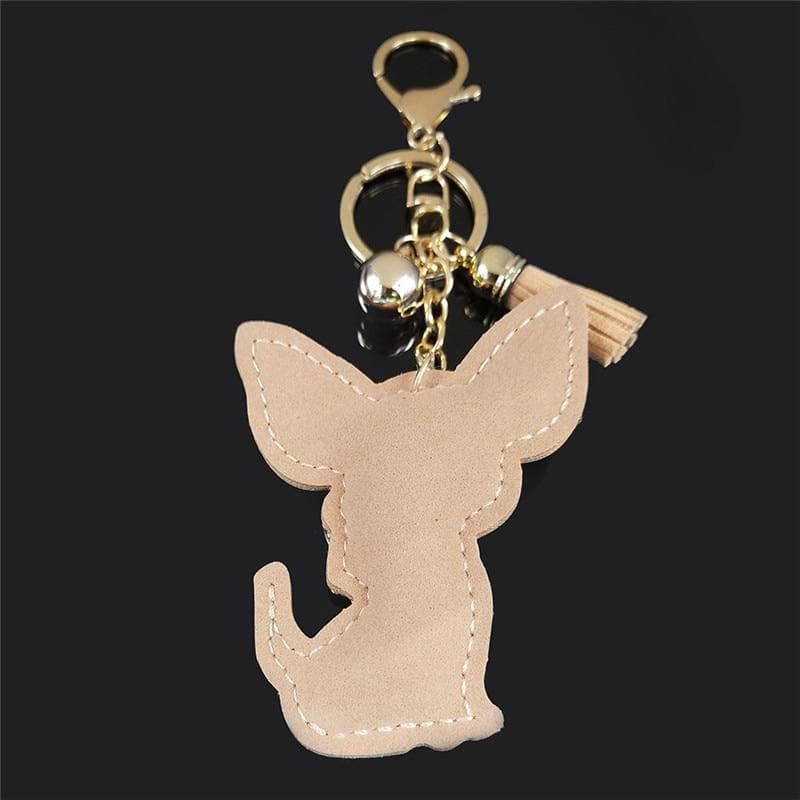 Fashion Chihuahua Crystal Keychain - Chihuahua We Love
