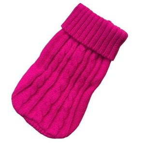 Dog Winter Clothes Knitted Pet Clothes For Small Medium Dogs Chihuahua Puppy Pet Sweater Yorkshire Pure Dog Sweater Ropa Perro - Chihuahua We Love