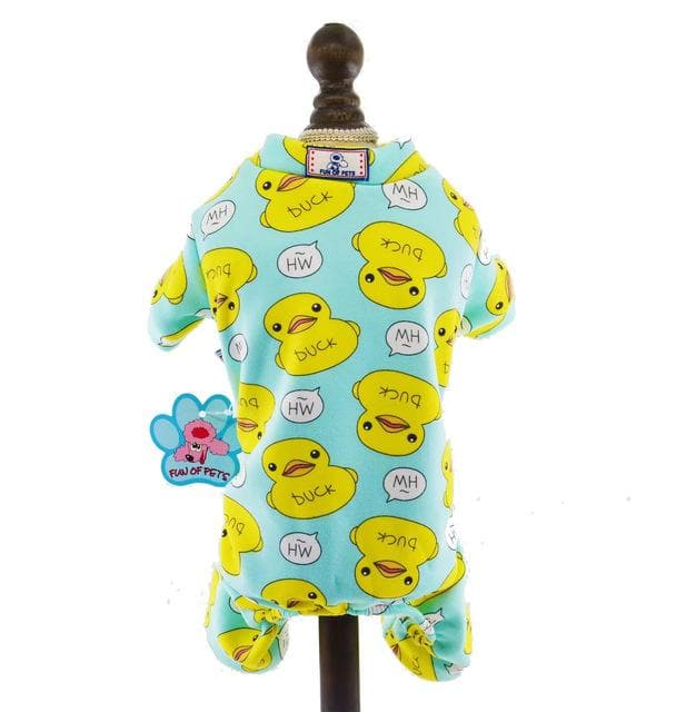 Duck Printed Pajama - Chihuahua We Love