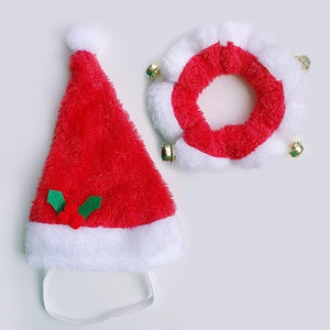 Christmas Hat And Collar Set - Chihuahua We Love