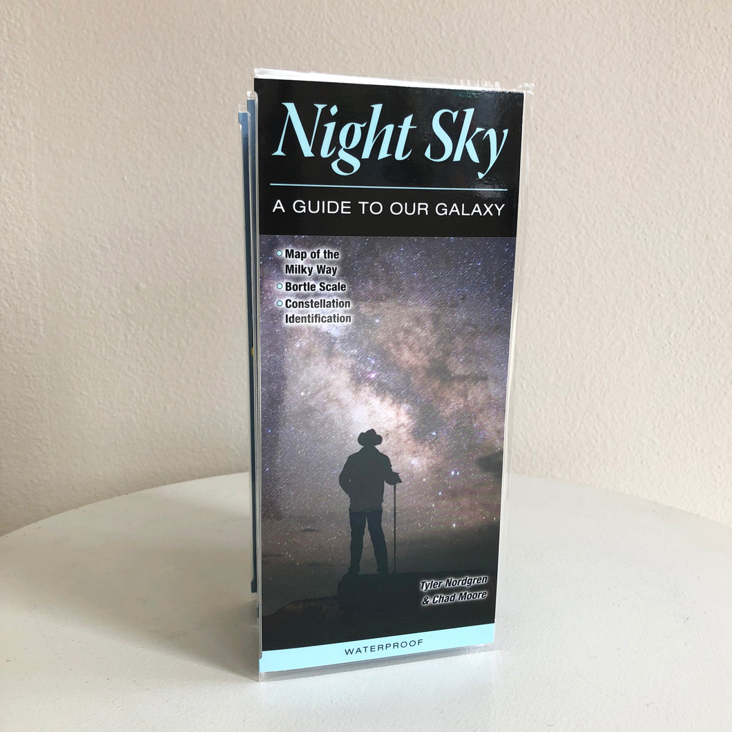 QR Guide | Night Sky Laminated Pamphlet