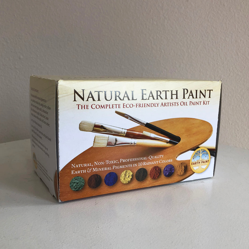Natural Earth Paint Eco-Friendly Artists Oil Paint Kit