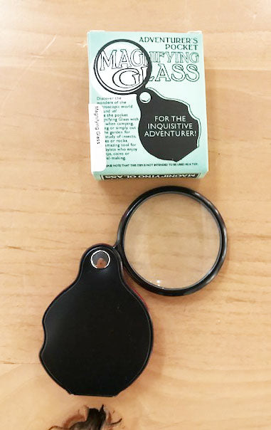 Junior Adventurer's Pocket Magnifying Glass with Leatherette Cover