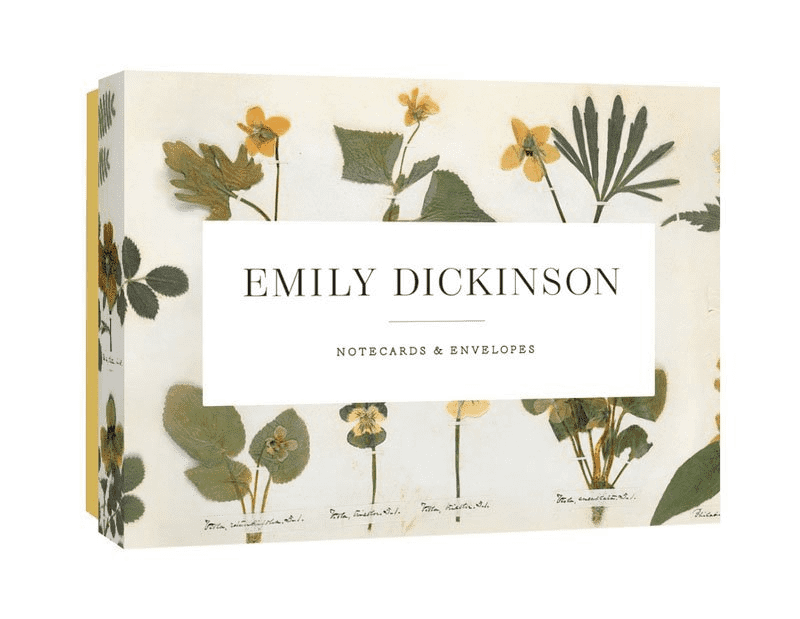 Emily Dickinson Poetry Quotes Notecards with Envelopes